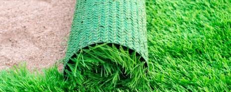 césped artificial para jardin sobre tierra