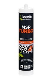 Adhesivo bostik turbo para la fijación de rodapies