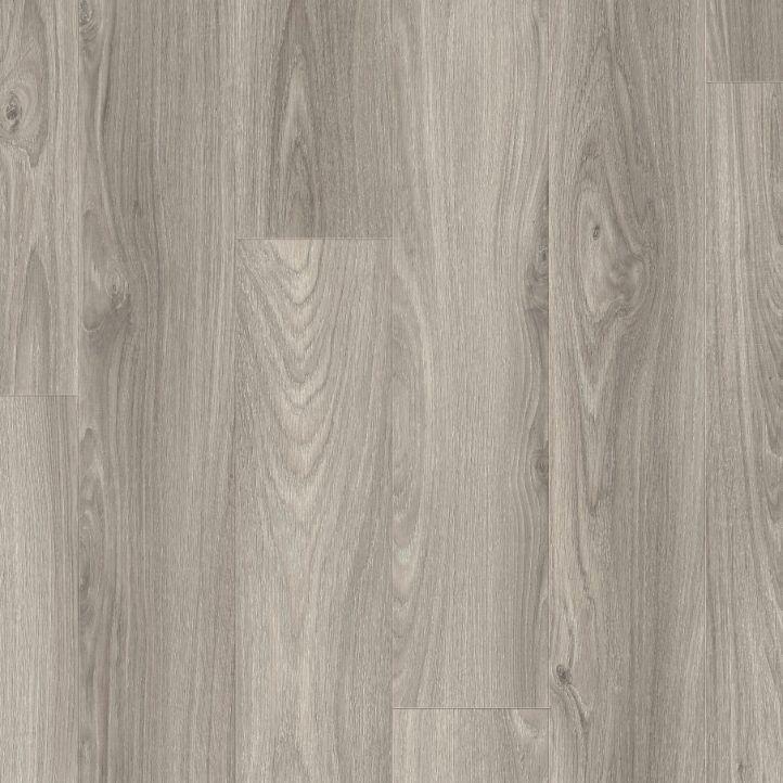 Suelo laminado de roble gris claro 1L de la marca Disfloor en vista diseño.