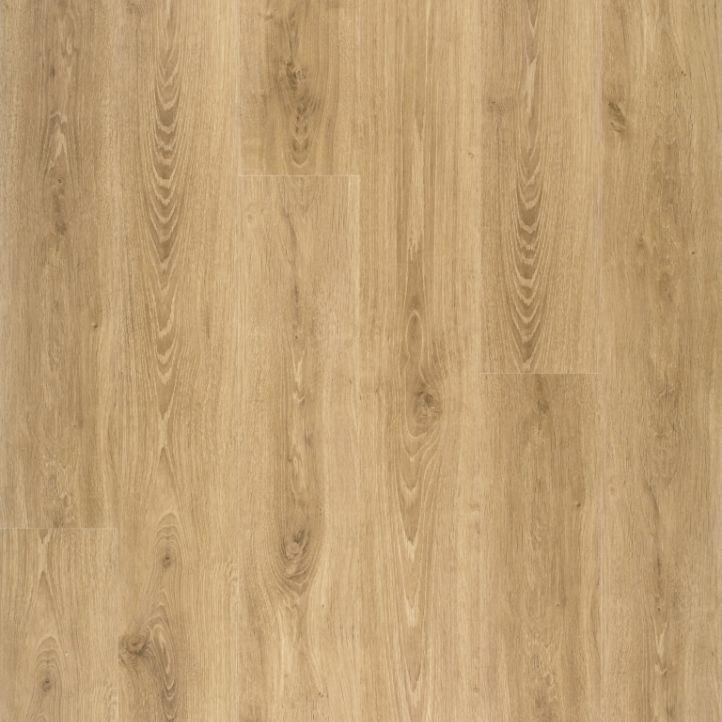 Suelo laminado de roble autentico natural 1L de la marca Disfloor en vista diseño.