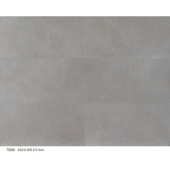 Suelo de vinilo de la marca Bdecora de la colección SPC click volcanoTEIDE en ambiente detallado.