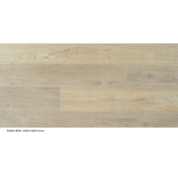 Suelo de vinilo de la marca Bdecora de la colección SPC click island IBIZA en ambiente detallado.