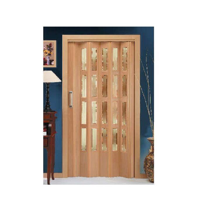 puerta plegable de DM acristalada disdoor