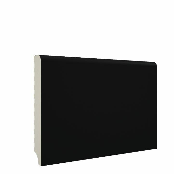 rodapié pvc negro de 8cm de altura mundoparquet