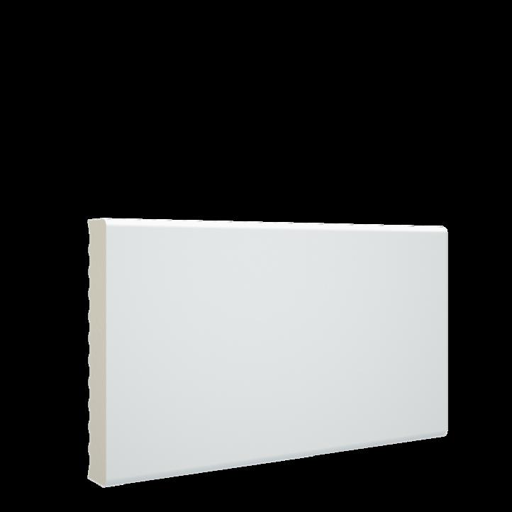 Color detallado mejorado de la tapeta para puestas de pvc blanco melamina de 70x12