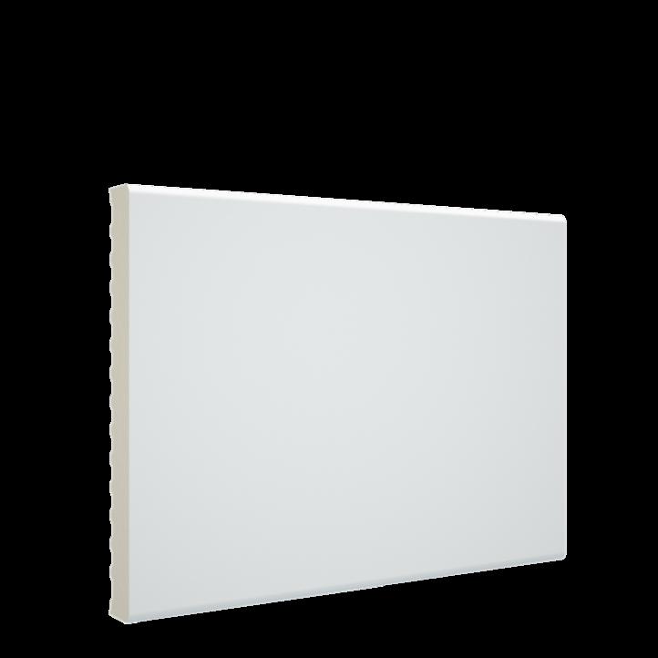 Color detallado mejorado de la tapeta para puestas de pvc blanco melamina de 90x10