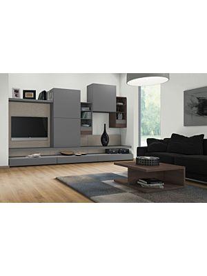 Parquet laminado de ROBLE ROANNE NATURAL EHL082 de Egger Home de 12mm de grosor, en un ambiente habitación.