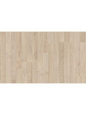 suelo laminado de la marca pergo de la serie living expression roble rubio L0301-01787 en vista detalle.