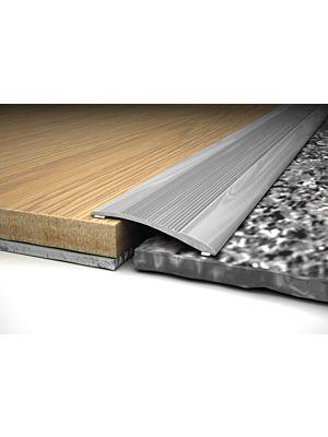 Perfil transición aluminio Inox Bdecora
