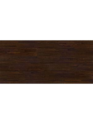 Tarima flotante de la marca Barlinek de la serie decor linee oak affogato de 3 lamas  en vista de detalle.