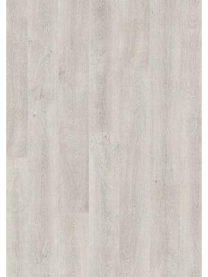 Parquet laminado de roble venecia natural de la marca quick-step de la serie eligna en un ambiente de habitación.
