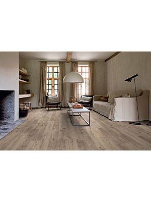 Parquet vinílico de la marca Quick-Step livyn Roble caña natural BACL40025 de la serie Balance Click  en un ambiente de habitación.
