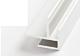 Perfil esquinero de aluminio para suelo vinilico