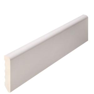 RODAPIÉ PVC PAPEL LACADO BLANCO DE 90x10 CANTO RECTO