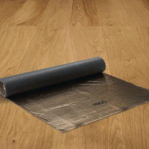 Subsuelo de la marca Pergo para suelos laminados y madera de 2mm de grosor.