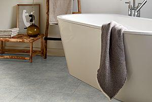 Parquet laminado EGGER HOME Tejido Cervia Coloreado diseño en tono gris EHL138