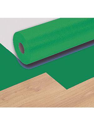 Base aislante para suelos vinílicos BDecora de color verde. Subsuelo Aquasound v plus 20 Db.