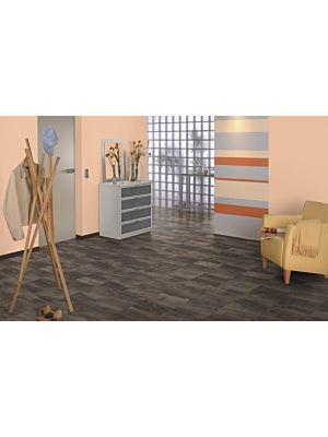 Parquet laminado  ROBLE WIDFORD EHL067 - 2V INFIN de Egger Home de la serie Kingsize  en un ambiente de sala.