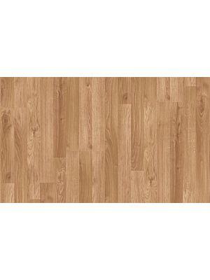 suelo laminado de la marca pergo de la serie living expression roble natural de 3 lamas L0301-01785 en vista de detalle.