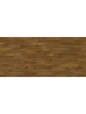 Tarima flotante de la marca Barlinek de la serie decor linee oak banana song de 3 lamas  en vista de detalle.