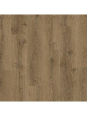 Parquet vinílico de la marca Pergo roble montaña marrón V2107-40162 de la serie premium en vista detalle.
