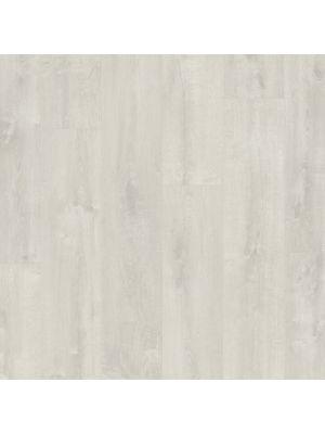 Parquet vinílico de la marca Pergo roble suave gris V3107-40164 de la serie optimum en un ambiente de habitación.