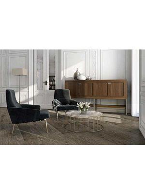 Parquet flotante de la marca Barlinek de la serie tastes of life Roble hazelnut en un ambiente de habitación.