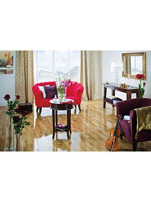 Parquet flotante de la marca Barlinek de la serie tastes of life roble delicious de 3 lamas en un ambiente de habitación
