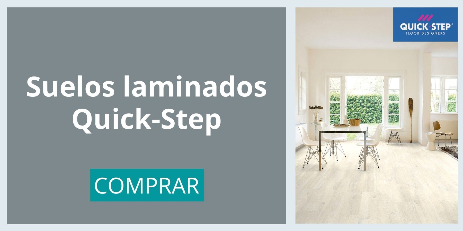 banner suelos laminados quick-step