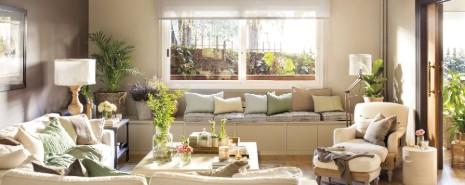parquet con plantas par absorber mejor la luz