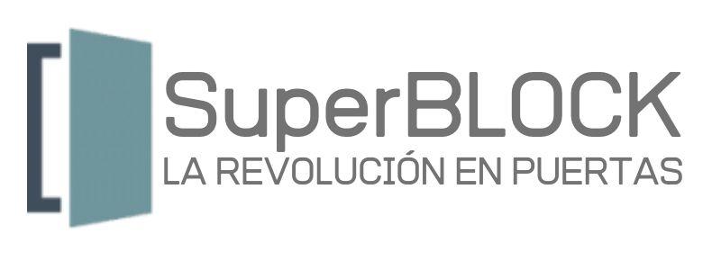 logo puertas superblock