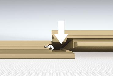 Método de instalación en ángulo de parquet suelos lamiandos.