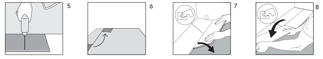 Pasos para instalar suelos de corcho